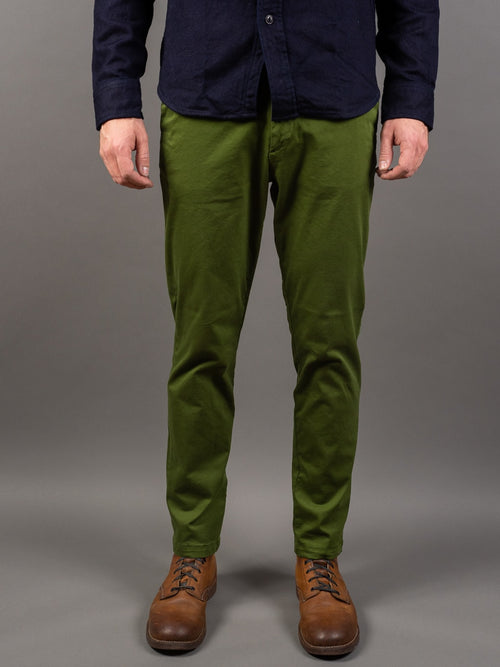 Spellbound 43-729T Tapered Chinos Olive front