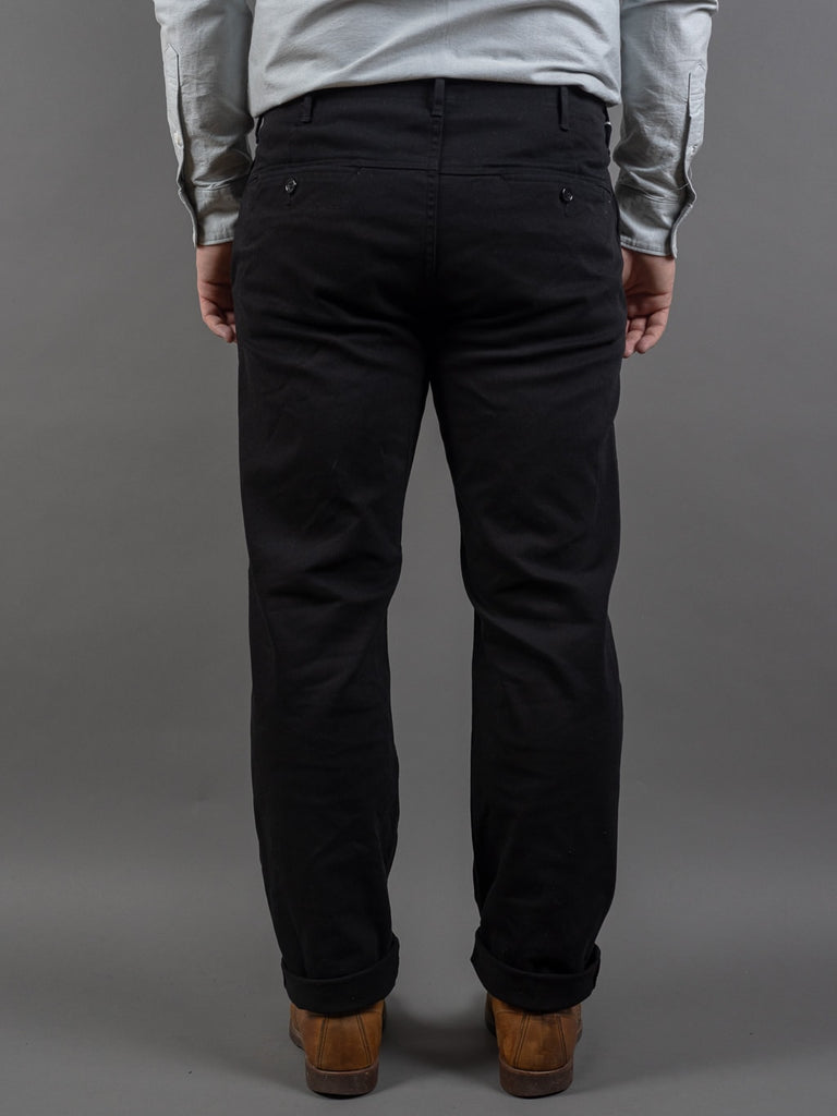 Spellbound 43-745T Slim Tapered Chinos Black back