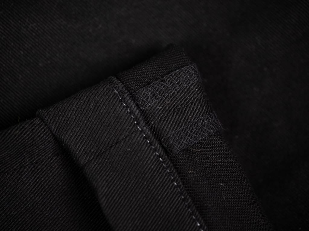Spellbound 43-745T Slim Tapered Chinos Black interior stitching