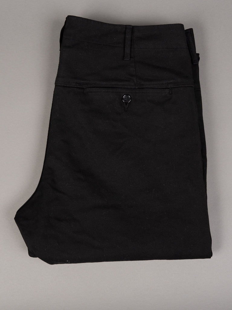 Spellbound 43-745T Slim Tapered Chinos Black rear pocket