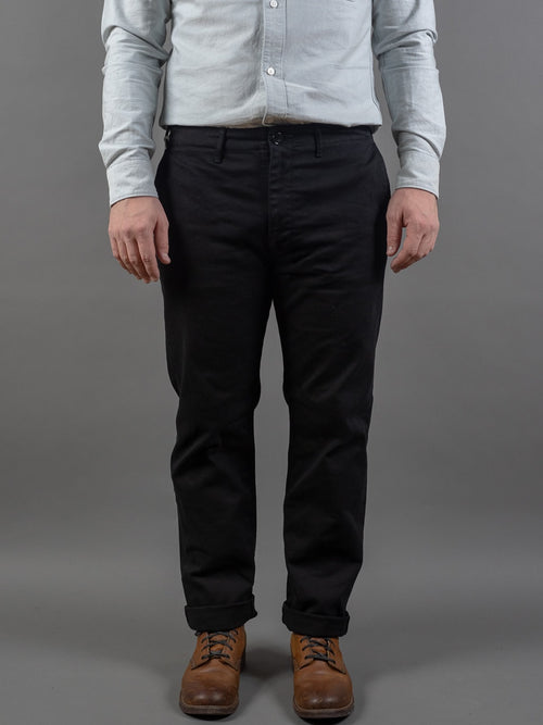 Spellbound 43-745T Slim Tapered Chinos Black front
