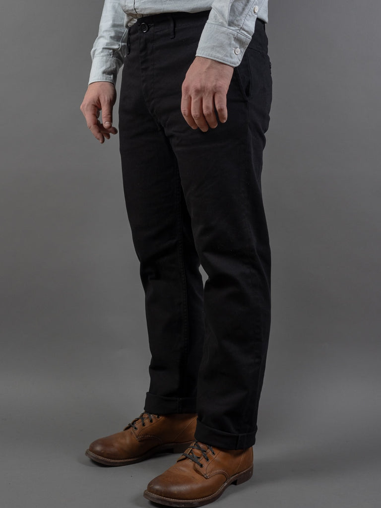 Spellbound 43-745T Slim Tapered Chinos Black side
