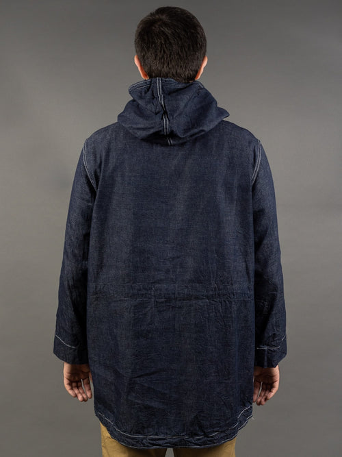 Spellbound 48-612E selvedge Denim Parka back