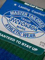 Stevenson Overall Athletic Sock Blue tag