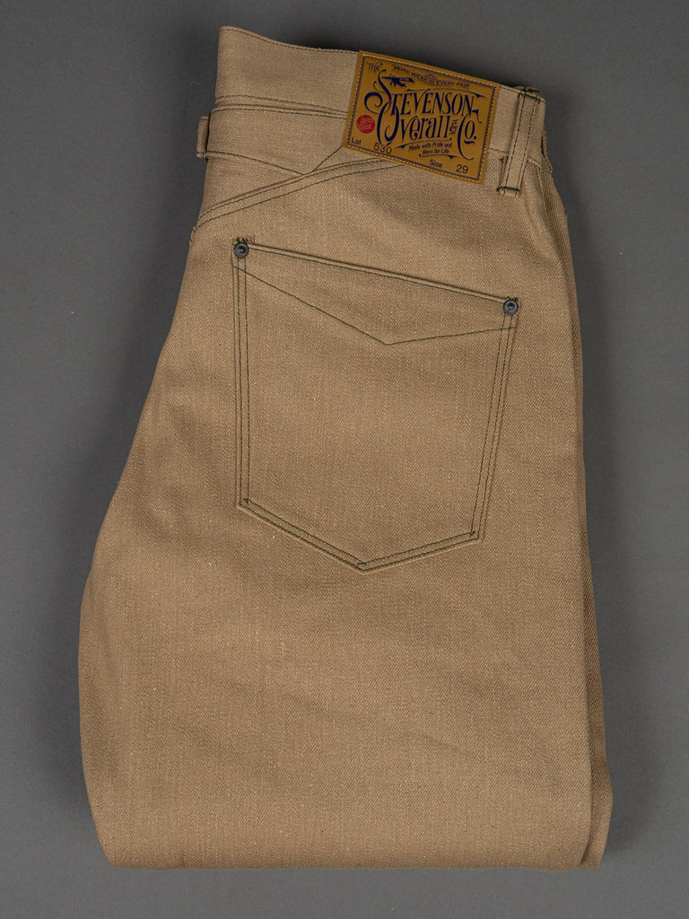 Stevenson Overall Coloma 530 Cinch Back Regular Straight Jeans 12oz