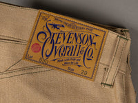 Stevenson Overall Coloma 530 Cinch Back Regular Straight Jeans patch