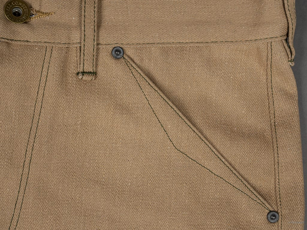 Stevenson Overall Coloma 530 Cinch Back Regular Straight Jeans pocket