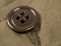 Stevenson Overall olive trench coat brown button