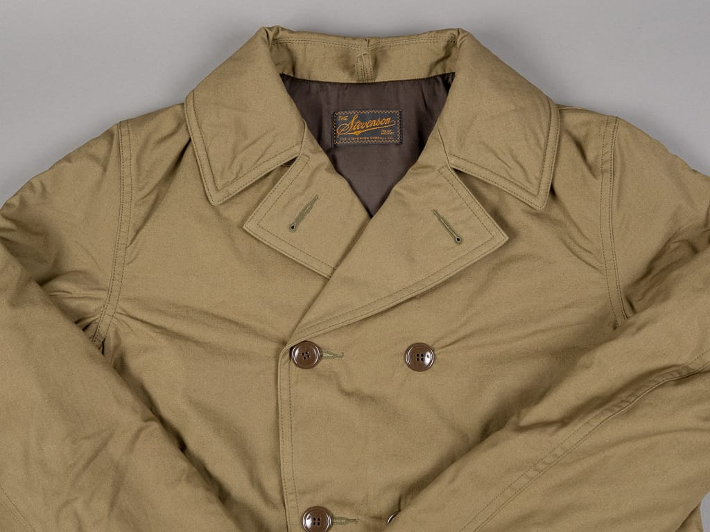 Stevenson Overall Offroader Type II trench Coat double breasted
