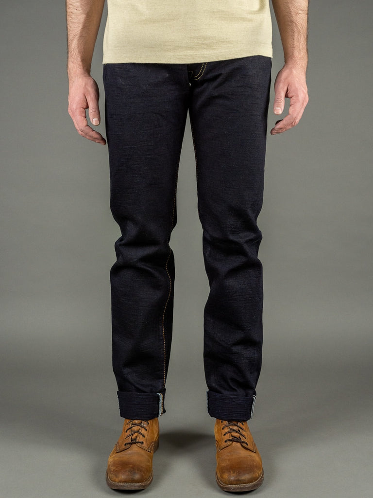Strike Gold 5004ID Double Indigo Straight Tapered denim Jeans