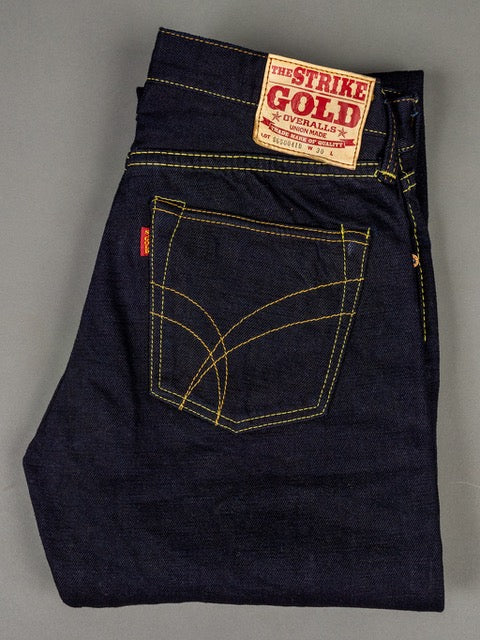Strike Gold 5004ID Double Indigo selvedge denim Jeans