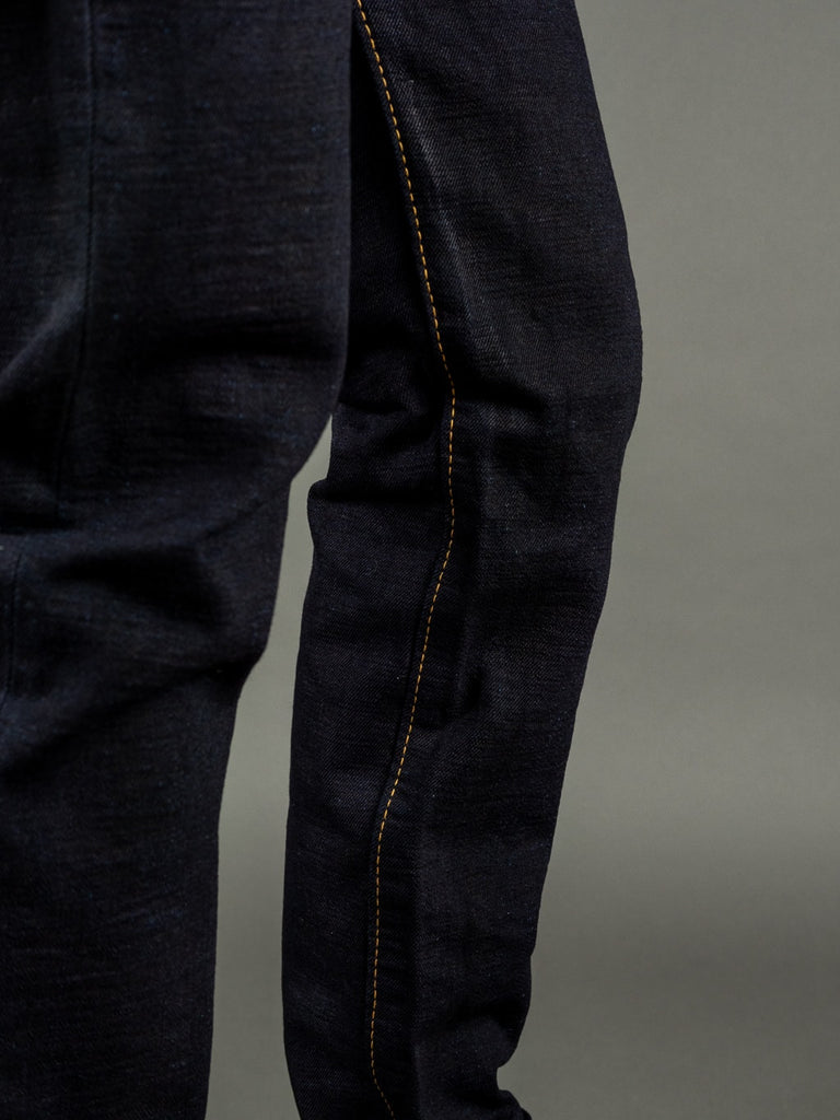 Strike Gold 5004ID Double Indigo Straight Tapered denim Jeans inseam