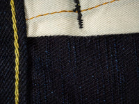 Strike Gold 5004ID Double Indigo denim Jeans detail