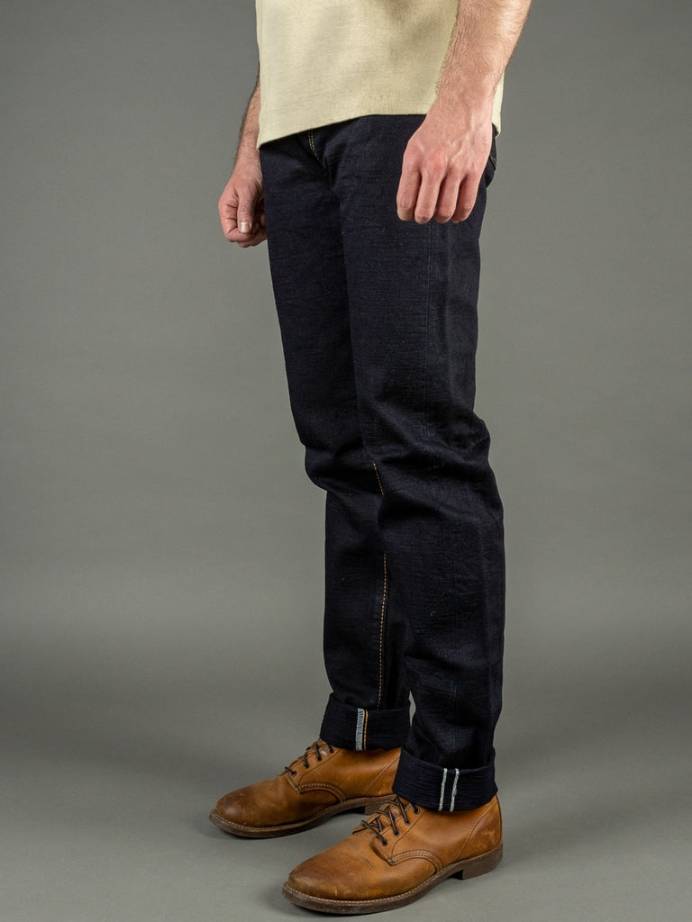 Strike Gold 5004ID Double Indigo Straight Tapered selvedge Jeans