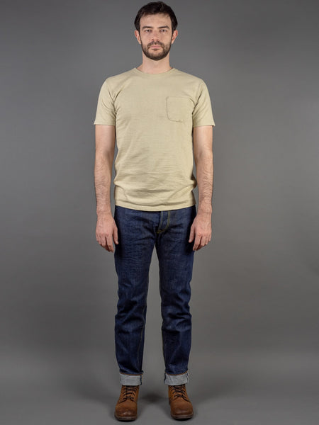 Studio D´Artisan 40th Anniversary Natural Indigo Tapered Jeans
