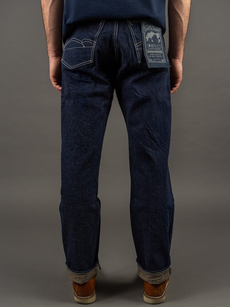 "Studio D´Artisan 40th Anniversary ""EARTH"" Limited Edition Jeans fox cotton kasezome"
