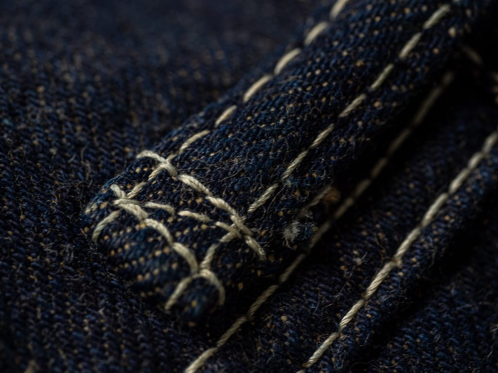 "Studio D´Artisan 40th Anniversary ""EARTH"" Limited Edition Jeans belt loop"