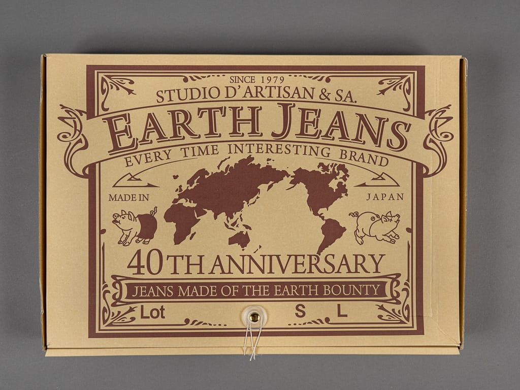 "Studio D´Artisan 40th Anniversary ""EARTH"" Limited Edition jeans box"
