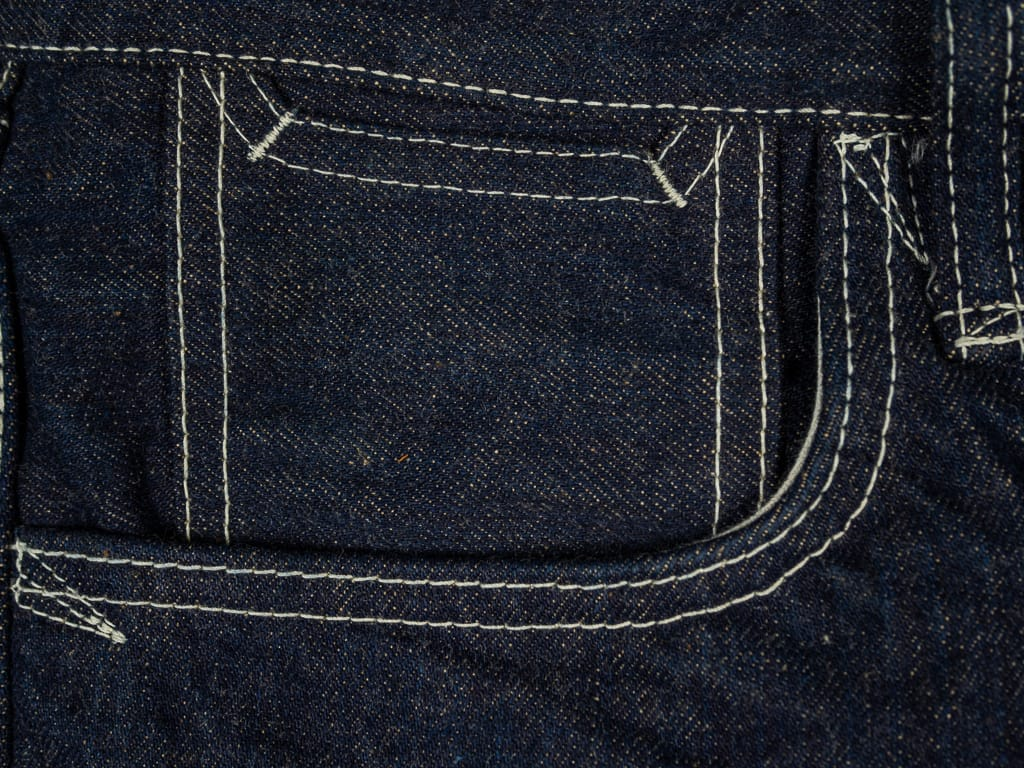 "Studio D´Artisan 40th Anniversary ""EARTH"" Limited Edition  Jeans coin pocket"