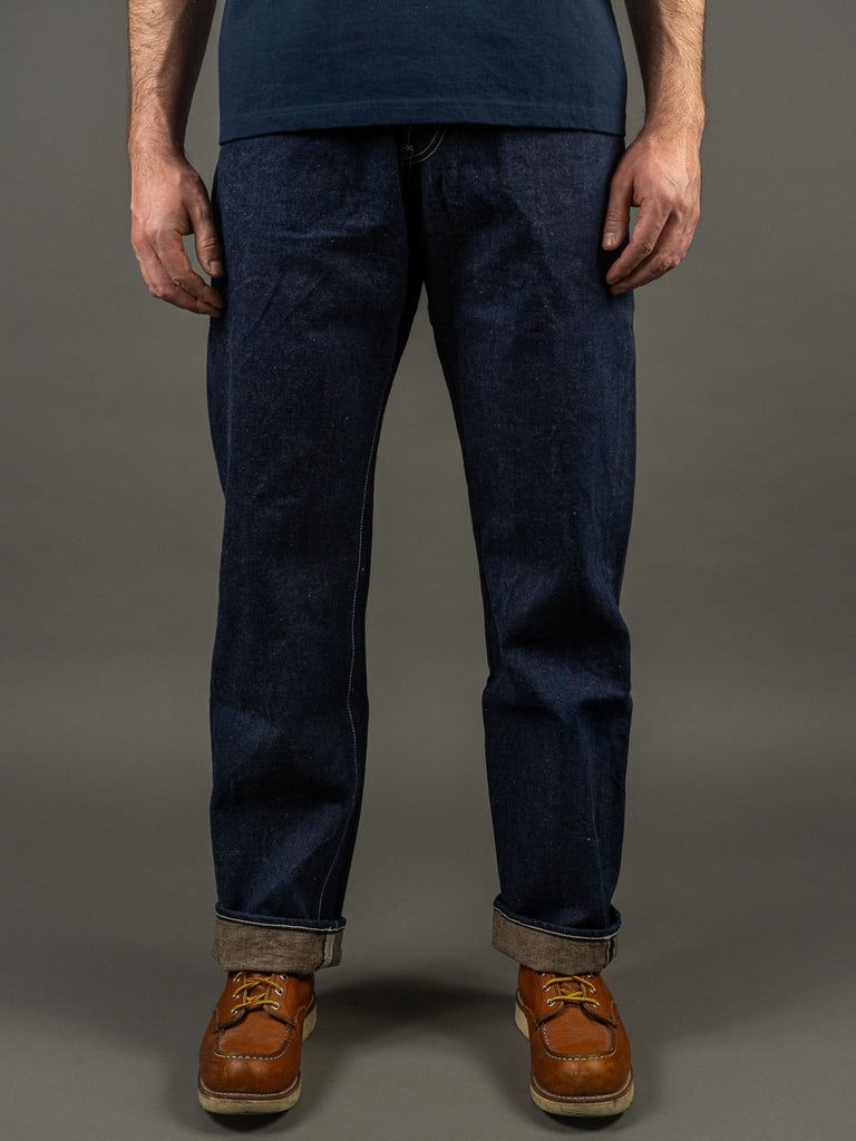 "Studio D´Artisan 40th Anniversary ""EARTH"" Regular Straight Jeans hank dyed"
