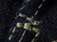 "Studio D´Artisan 40th Anniversary ""EARTH"" Limited Edition Jeans detail"