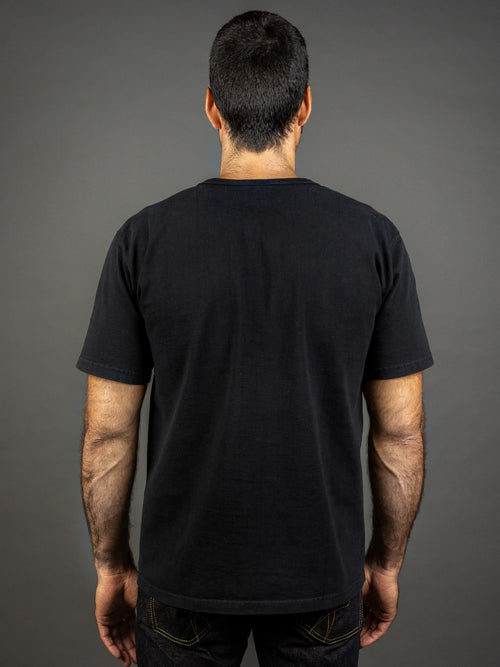 Studio D´Artisan 9913 Loopwheel T-shirt Black back