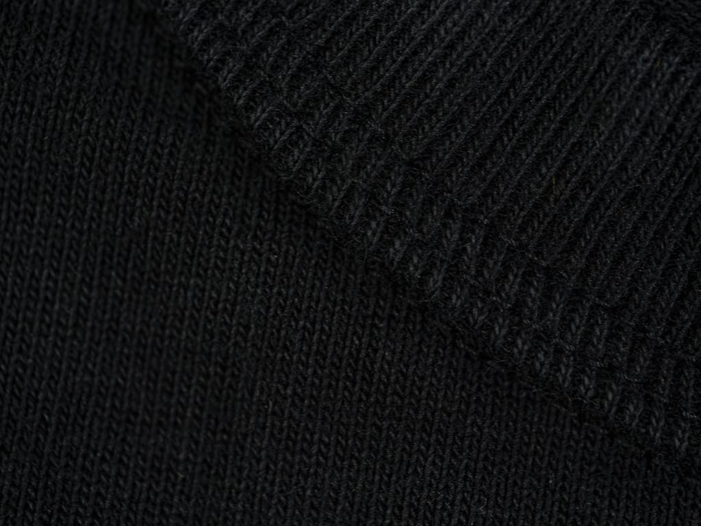 Studio D´Artisan Loopwheel T-shirt Black collar stitching
