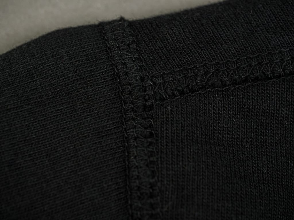 Studio D´Artisan 9913 Loopwheel T-shirt Black stitching