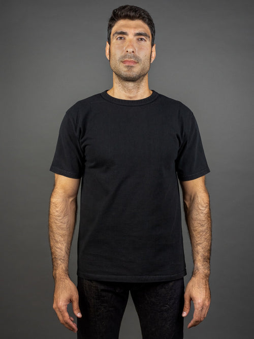 Studio D´Artisan 9913 Loopwheel T-shirt Black