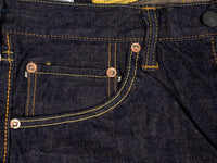 Studio D´Artisan Fox Cotton selvedge jeans coin pocket