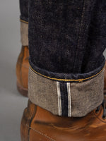 Studio D´Artisan Fox-001 Fox Cotton jeans navy selvedge