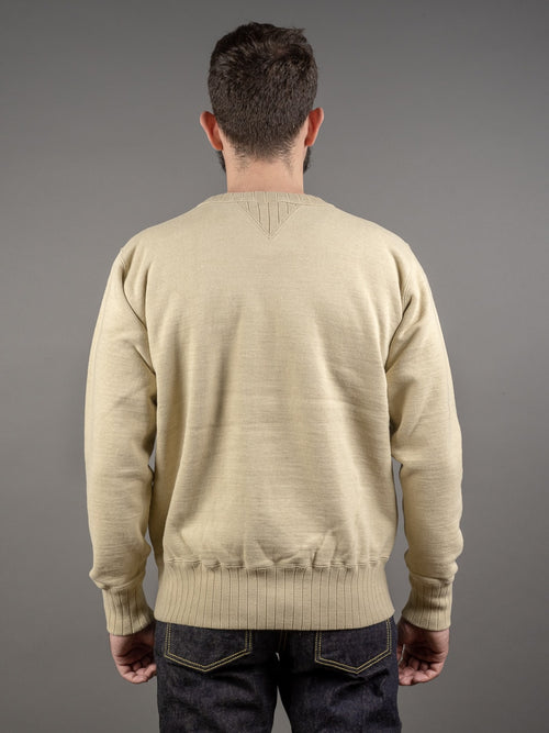 Studio D´Artisan Fox-005 Fox Cotton Loopwheeled Sweatshirt back
