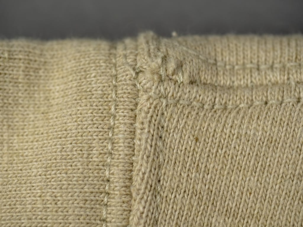 Studio D´Artisan Fox Cotton Loopwheeled Sweatshirt stitching