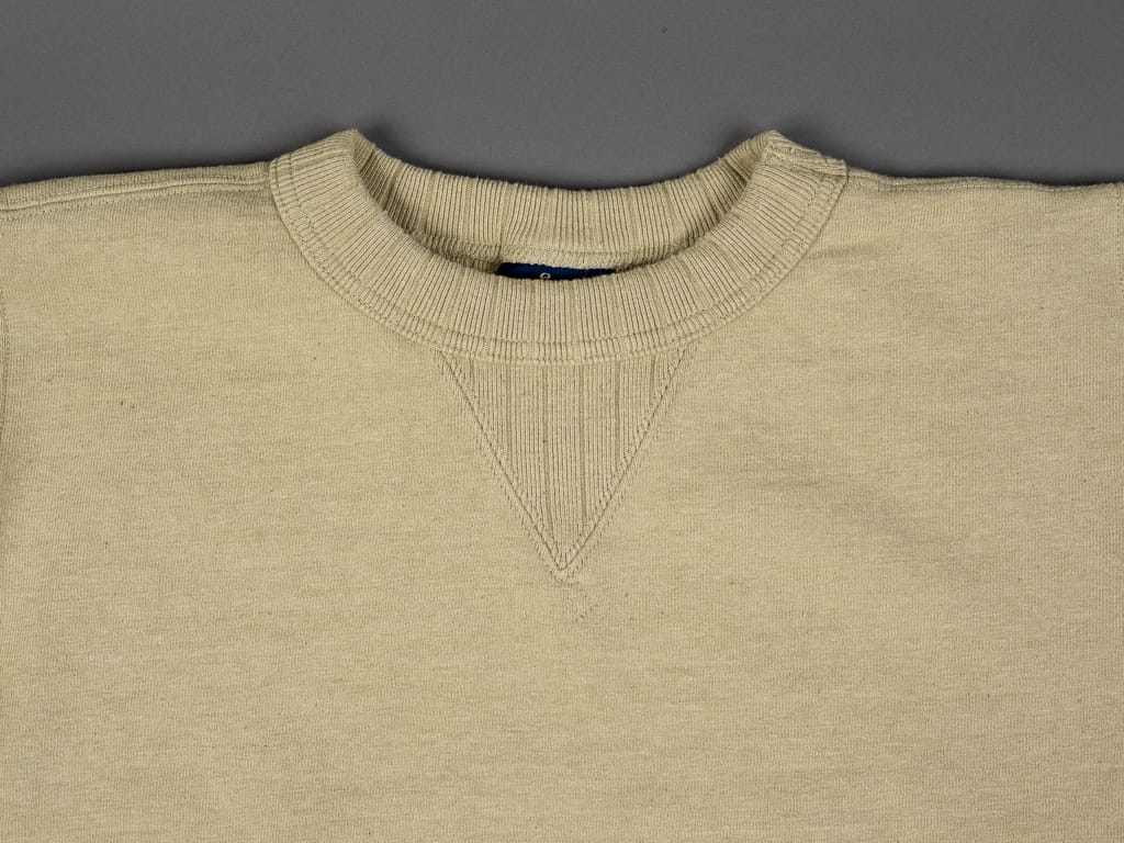 Studio D´Artisan Fox Cotton Loopwheeled Sweatshirt round neck