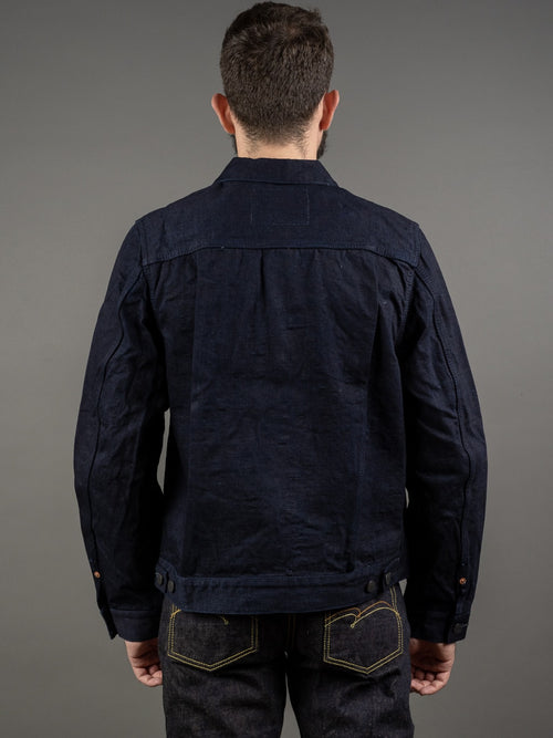 Studio D´Artisan Double Indigo Type II Jacket back