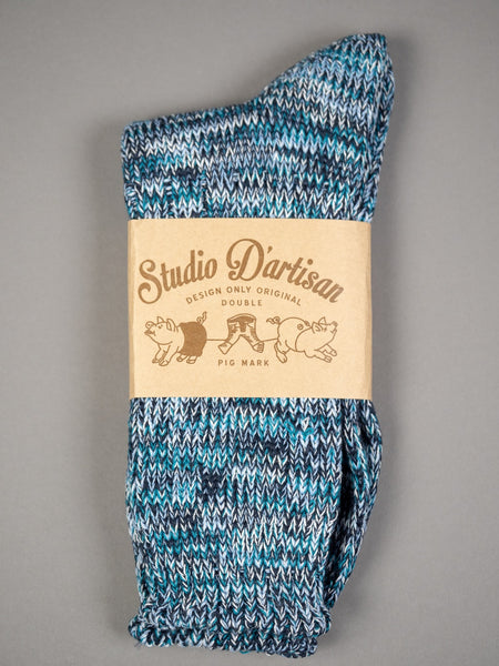 Studio D´Artisan Long Mix Socks Blue