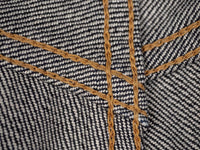 Studio D´Artisan Suvin Gold D1755 selvedge jeans interior stitching
