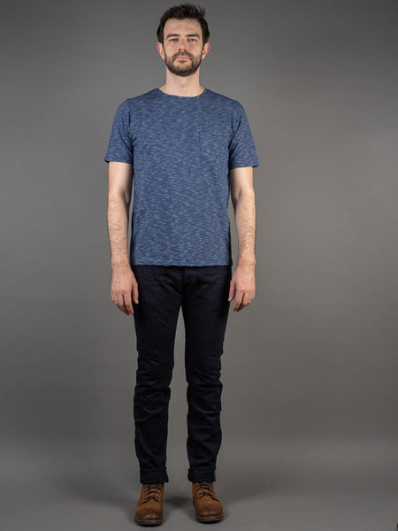 Tanuki IDT Deep Blue Tapered Indigo Jeans
