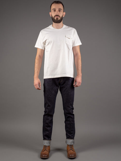 tanuki rht retro high tapered selvedge jeans