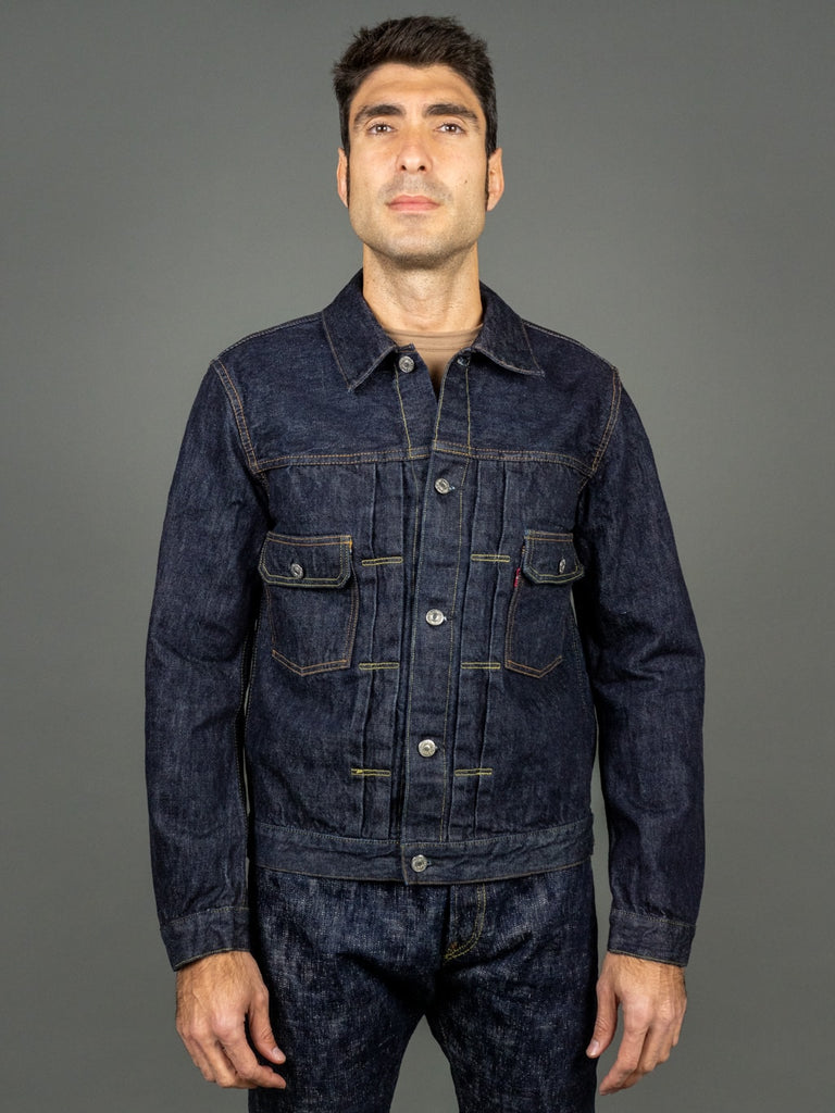 tcb 50 levis inspired type 2 jacket front