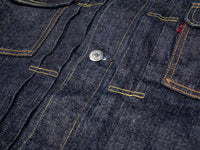 tcb 50 levis inspired type 2 selvedge denim jacket