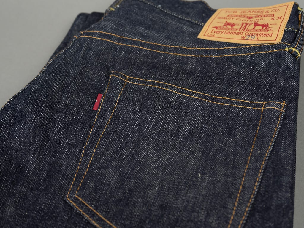 TCB 50´s japanese denim Jeans 501 fit