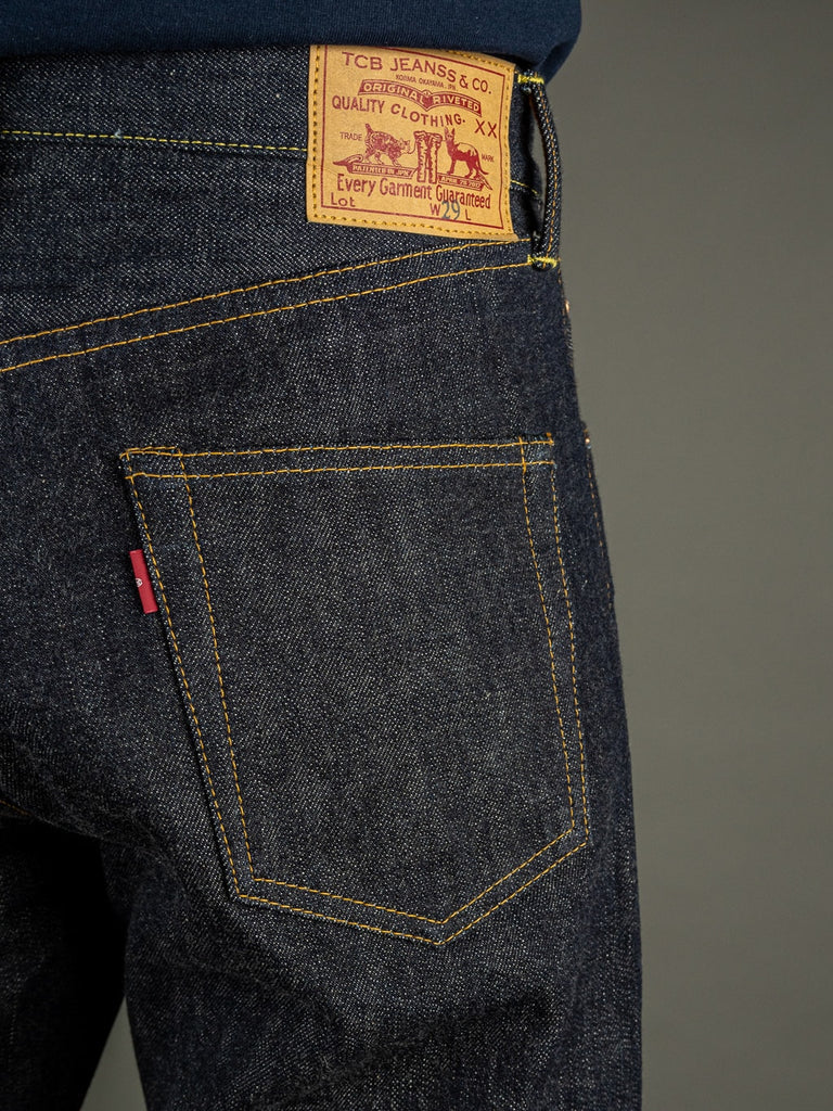 TCB 50´s unsanforized japanese denim Jeans