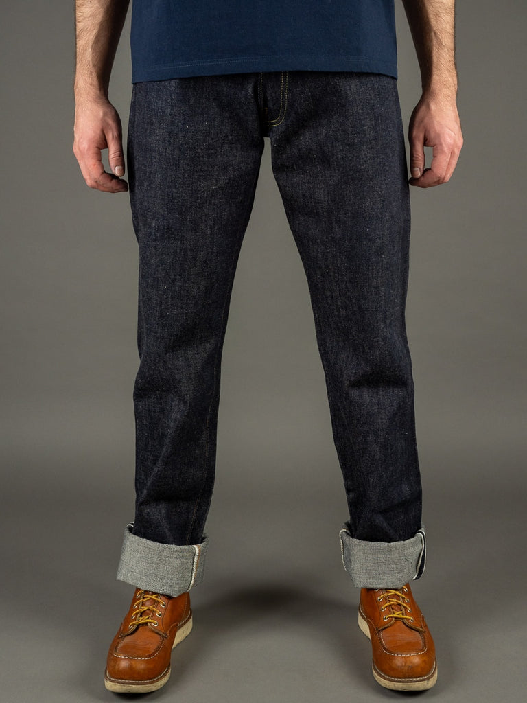 TCB 50´s Regular Straight japanese denim Jeans front