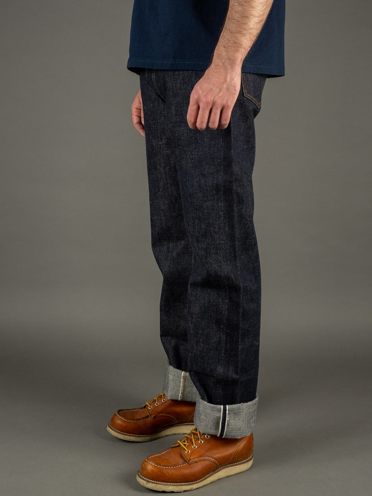 TCB 50´s Regular Straight japanese denim Jeans side