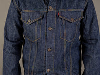 tcb 60´s type 3 trucker selvedge japanese denim jacket pockets