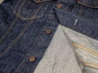 tcb 60´s type 3 trucker selvedge japanese denim jacket interior