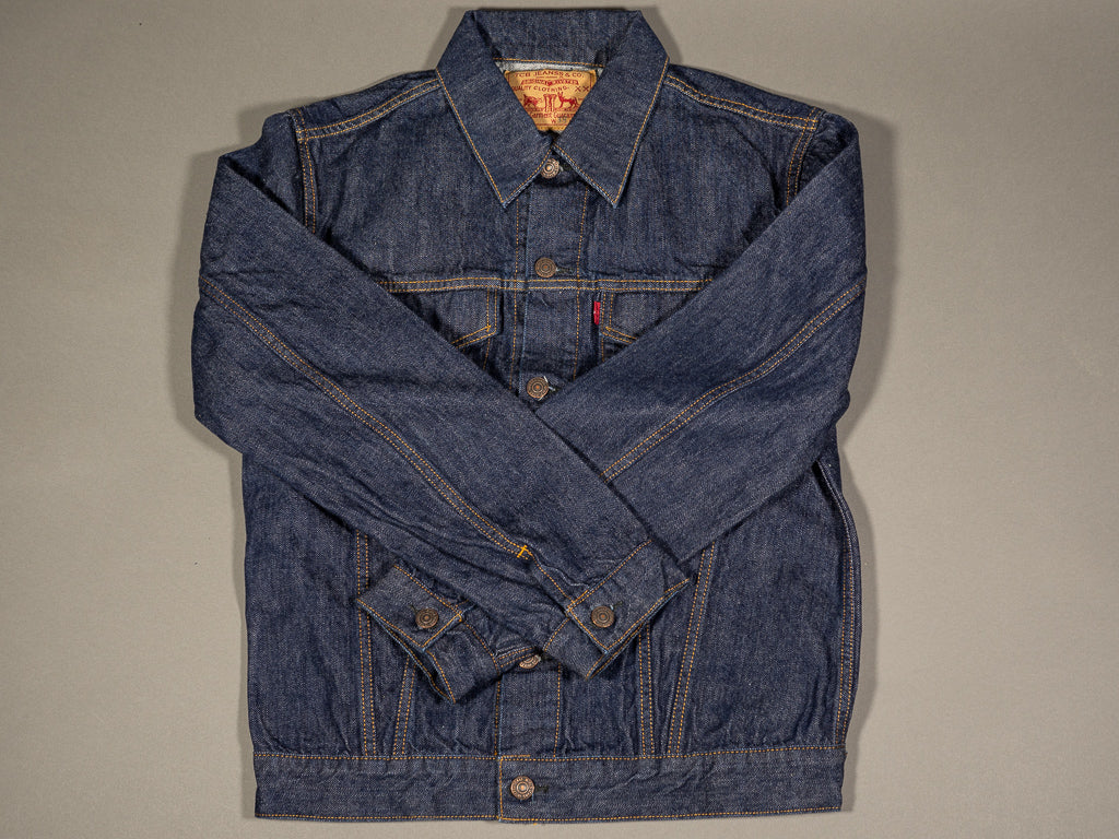 tcb 60´s type 3 trucker selvedge japanese denim jacket
