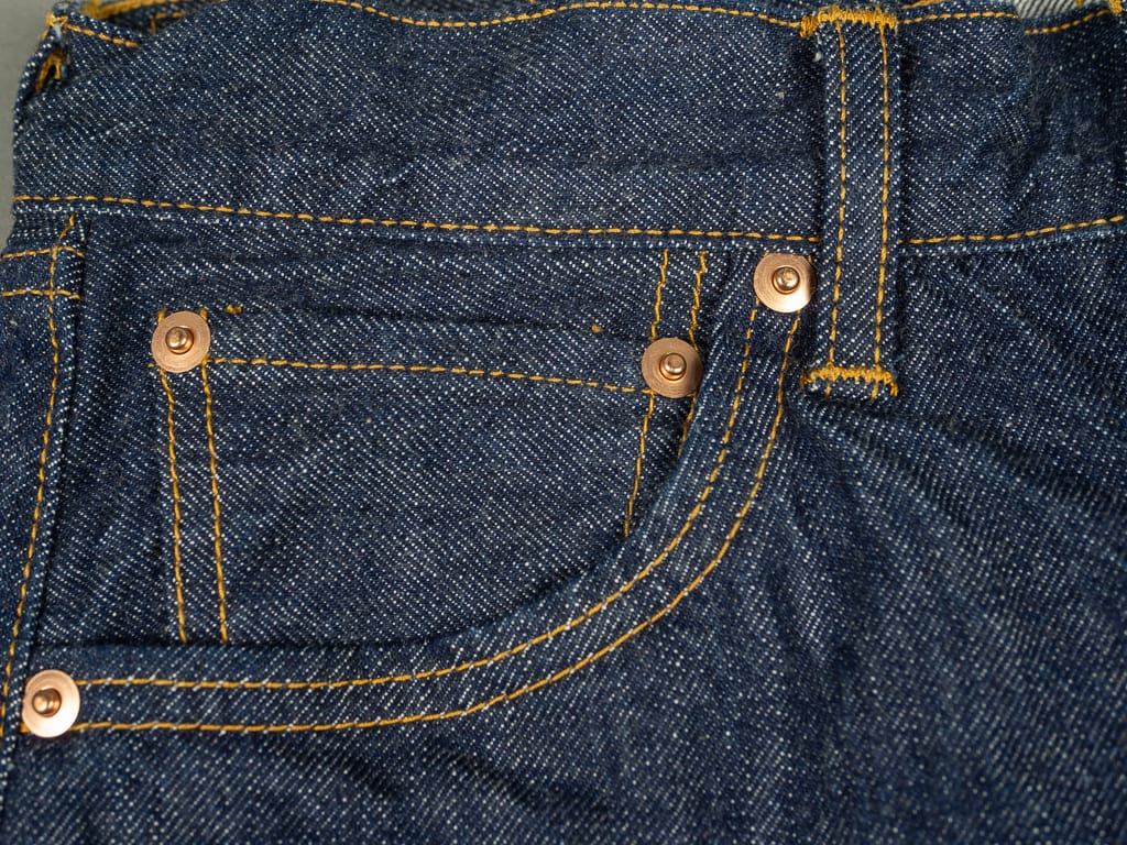 selvedge coin pocket of TCB 60´s Jeans