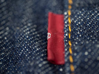 red tab of TCB 60´s japanese denim Jeans